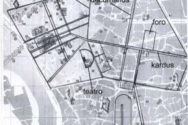 Plano Ibérico y Romano de Córdoba