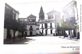 Plaza Benavente año 1940